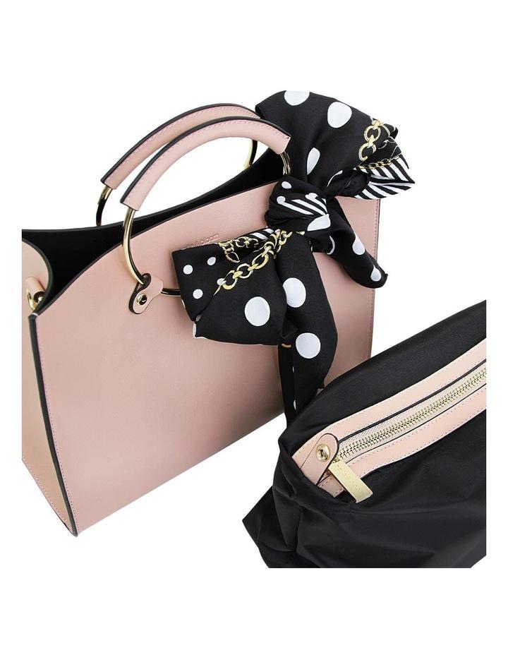 Blush Palm Beach Zip Top Crossbody Bag image 4