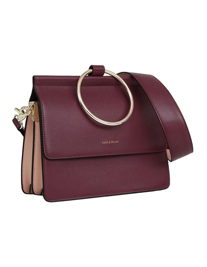 Wine Brianna Flap Over Crossbody Bag image 2