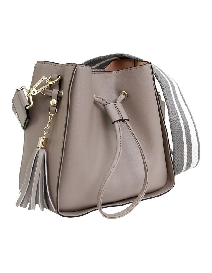 DAIS200GRY Grey Daisy Drawstring Shoulder Bag image 2
