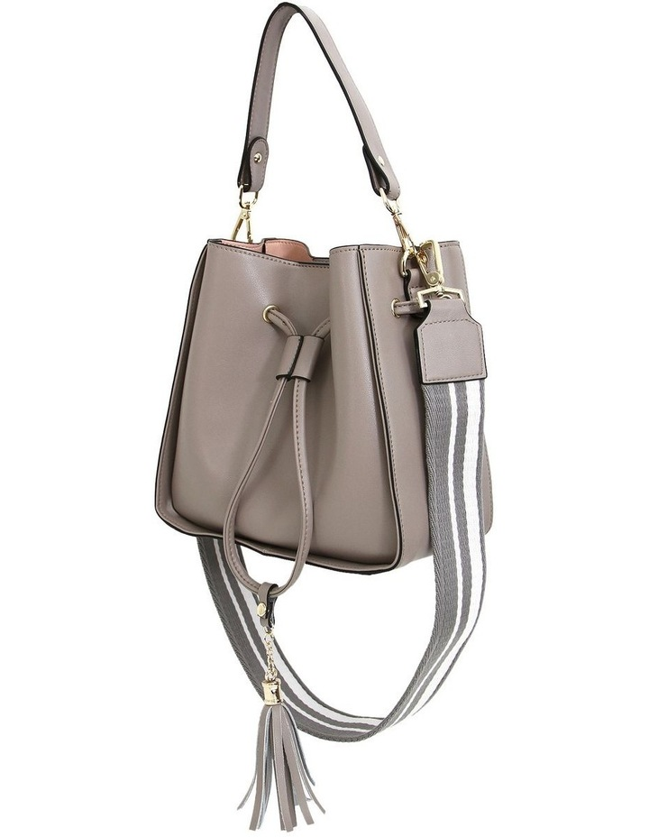 DAIS200GRY Grey Daisy Drawstring Shoulder Bag image 3