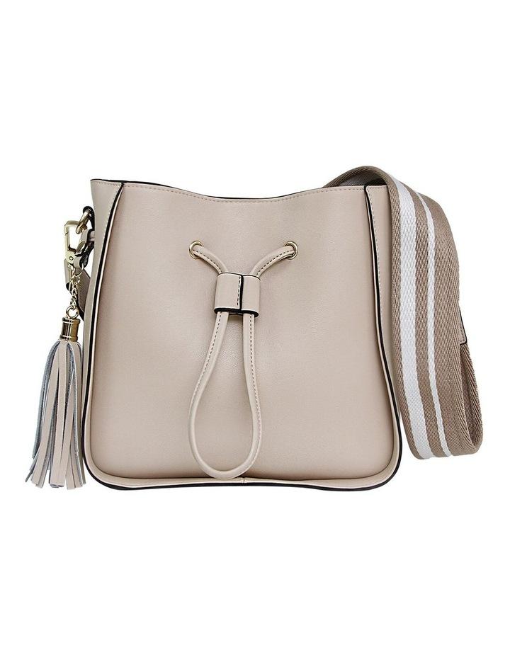 DAIS400LAT Latte Daisy Drawstring Shoulder Bag image 1