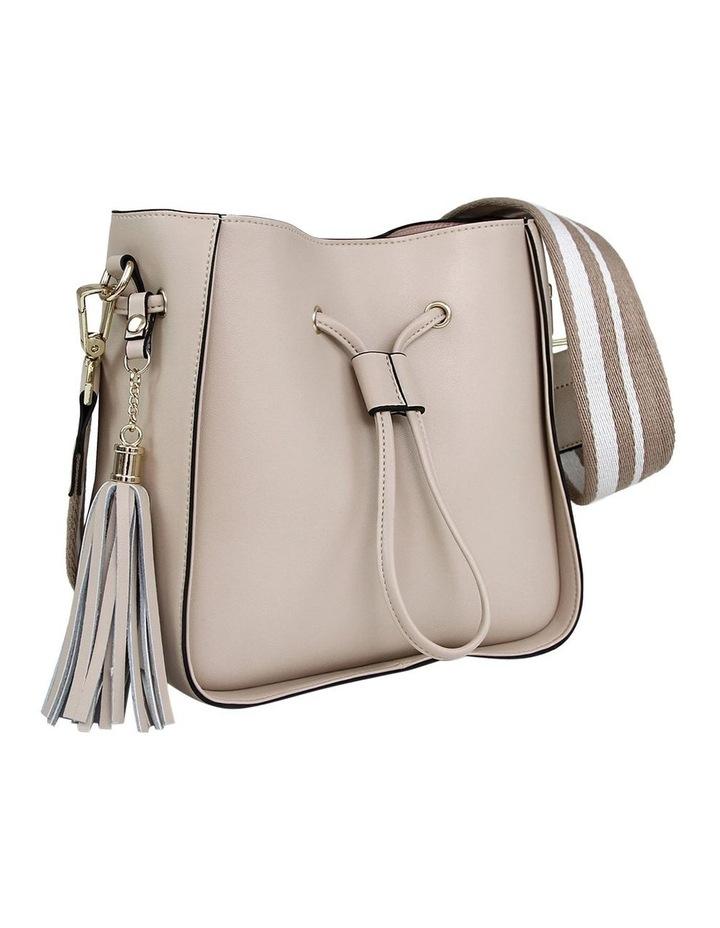 DAIS400LAT Latte Daisy Drawstring Shoulder Bag image 2