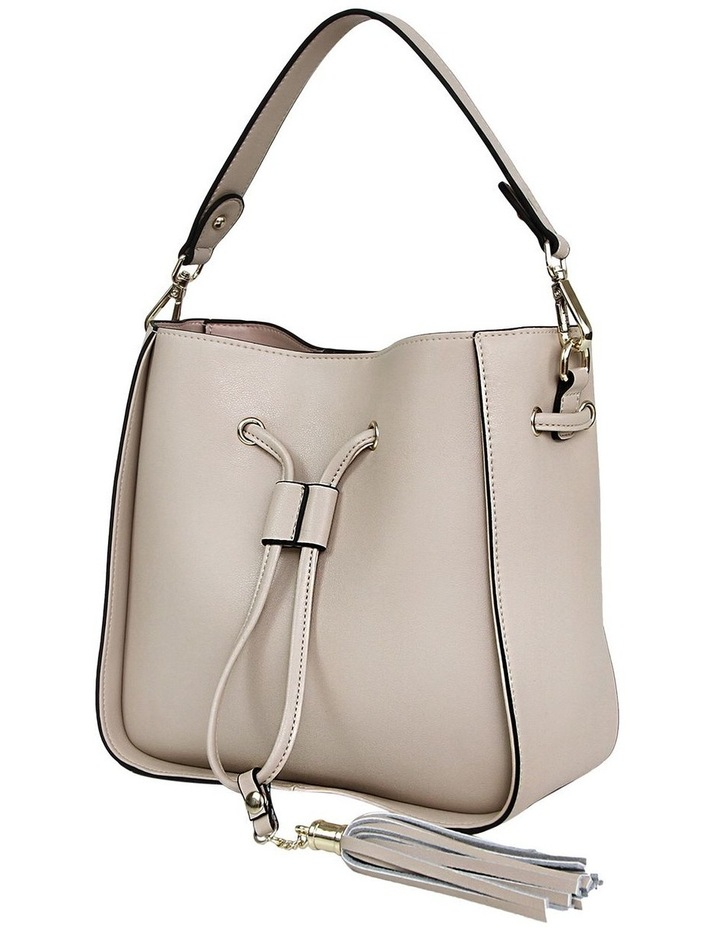 DAIS400LAT Latte Daisy Drawstring Shoulder Bag image 3