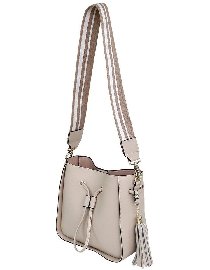 DAIS400LAT Latte Daisy Drawstring Shoulder Bag image 4