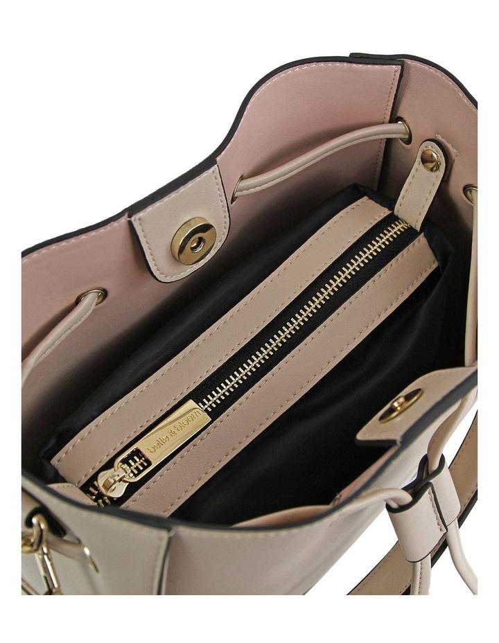 DAIS400LAT Latte Daisy Drawstring Shoulder Bag image 5