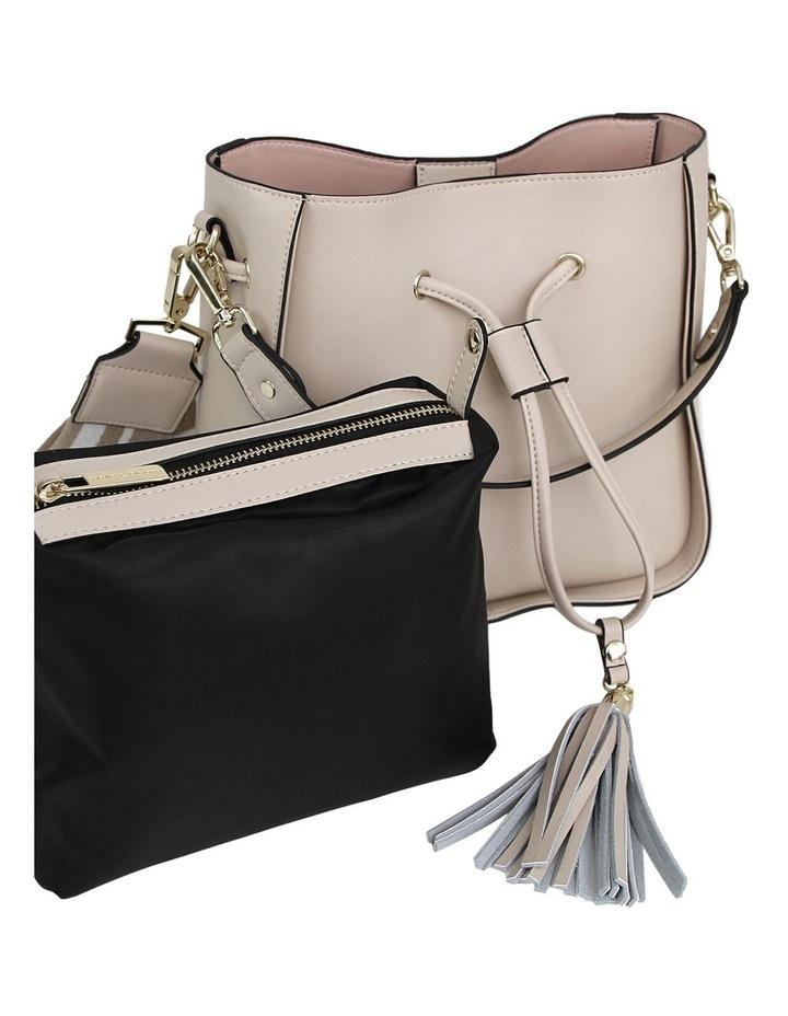 DAIS400LAT Latte Daisy Drawstring Shoulder Bag image 6