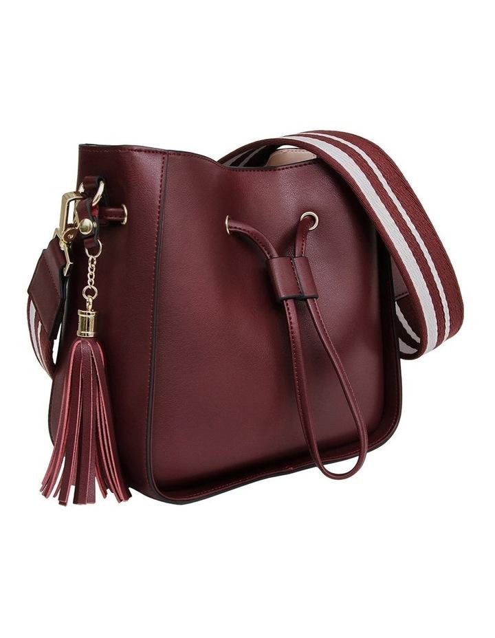 DAIS500WINE Daisy Wine Drawstring Shoulder Bag image 3