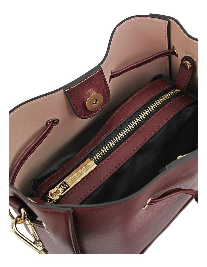 DAIS500WINE Daisy Wine Drawstring Shoulder Bag image 5