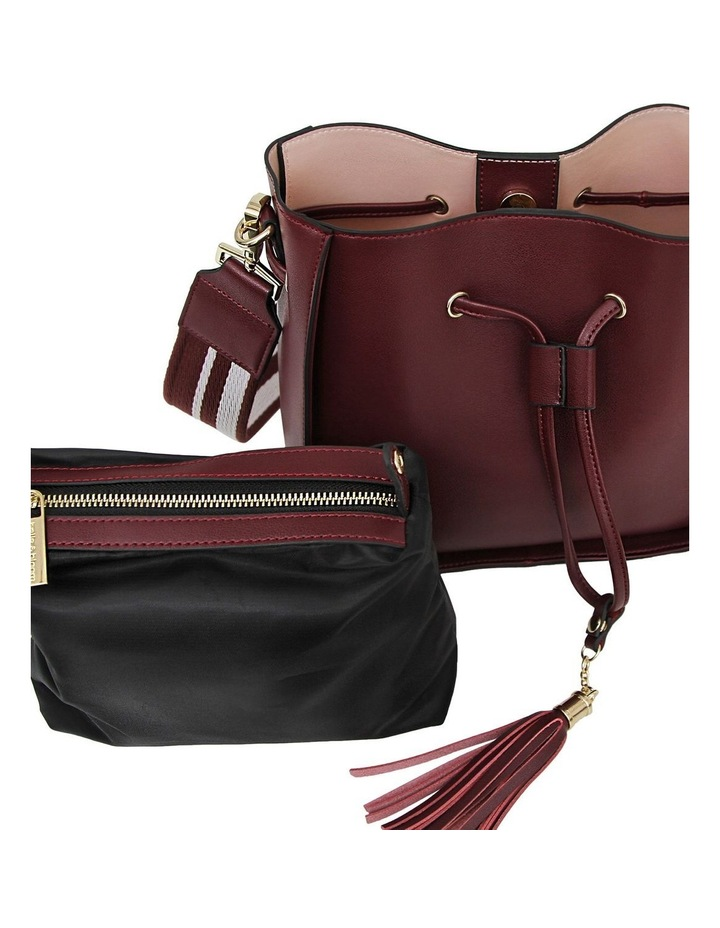 DAIS500WINE Daisy Wine Drawstring Shoulder Bag image 6
