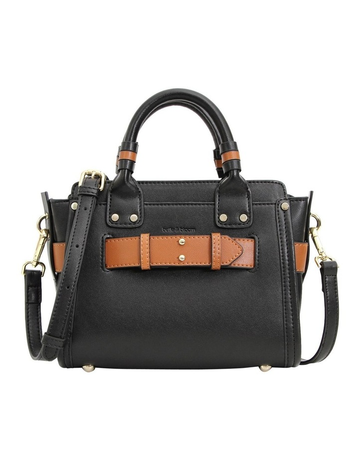 Black Ally Top Handle Crossbody Bag image 1