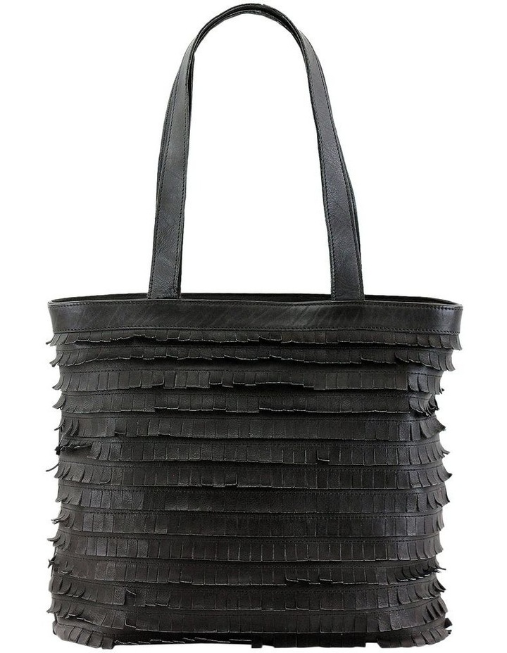 PRM201 Fringe Double Handle Tote Bag image 1