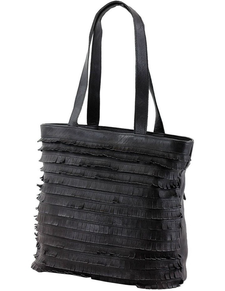 PRM201 Fringe Double Handle Tote Bag image 2