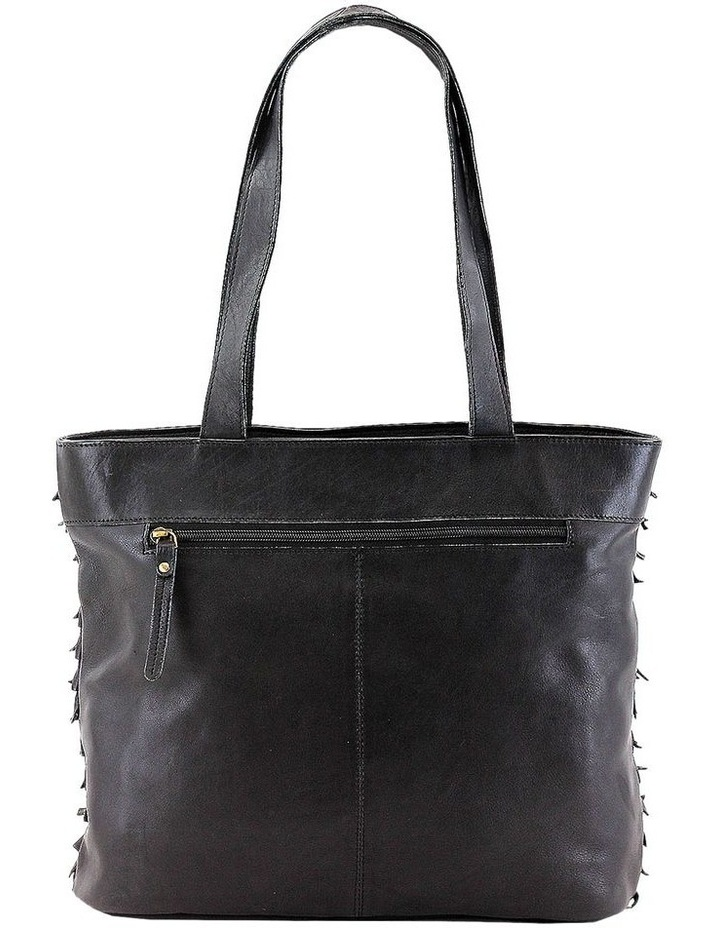 PRM201 Fringe Double Handle Tote Bag image 3