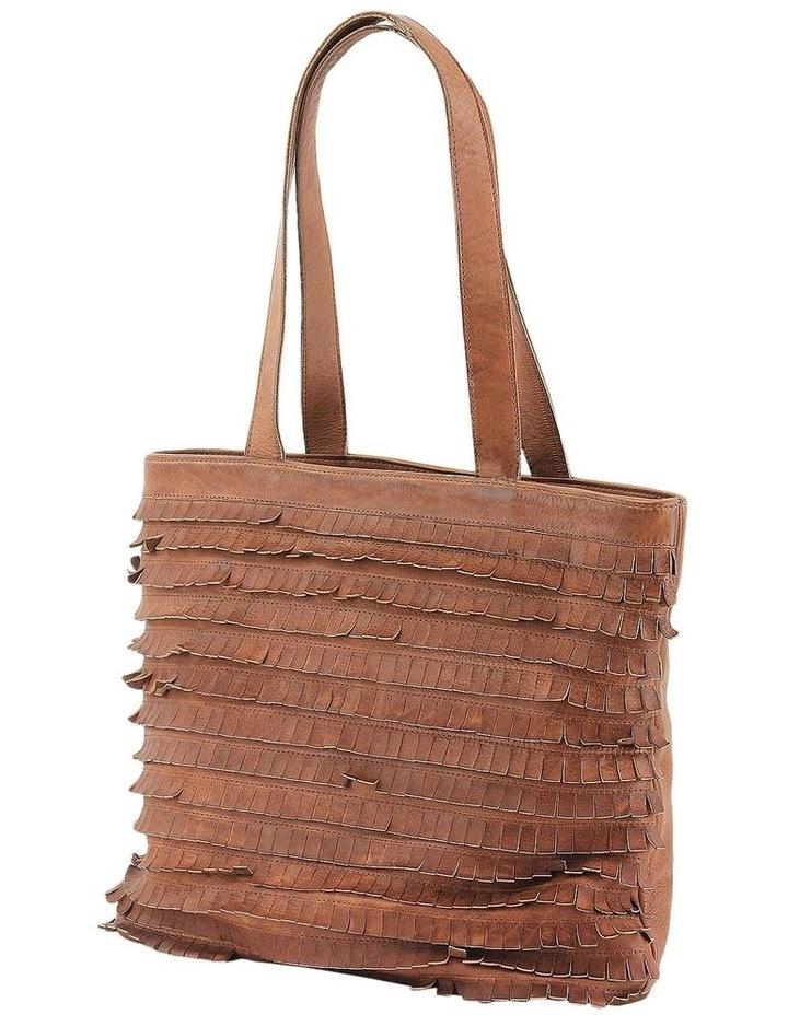 PRM201 Fringe Double Handle Tote Bag image 2