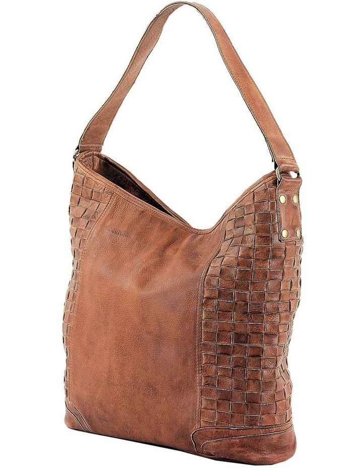 PRM203 Weave Shoulder Strap Hobo Bag image 2