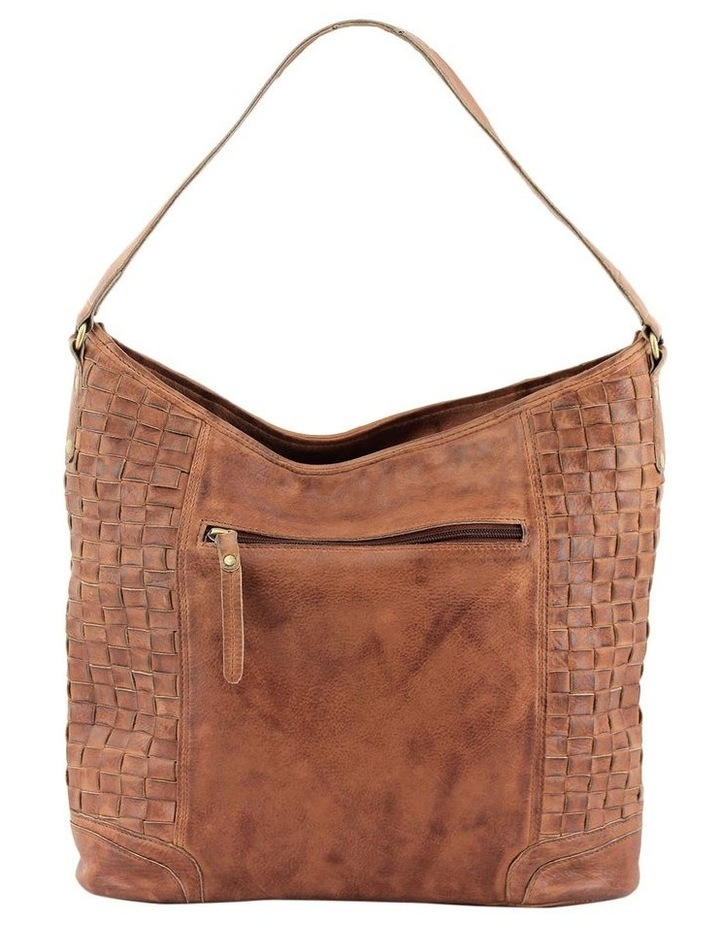 PRM203 Weave Shoulder Strap Hobo Bag image 3