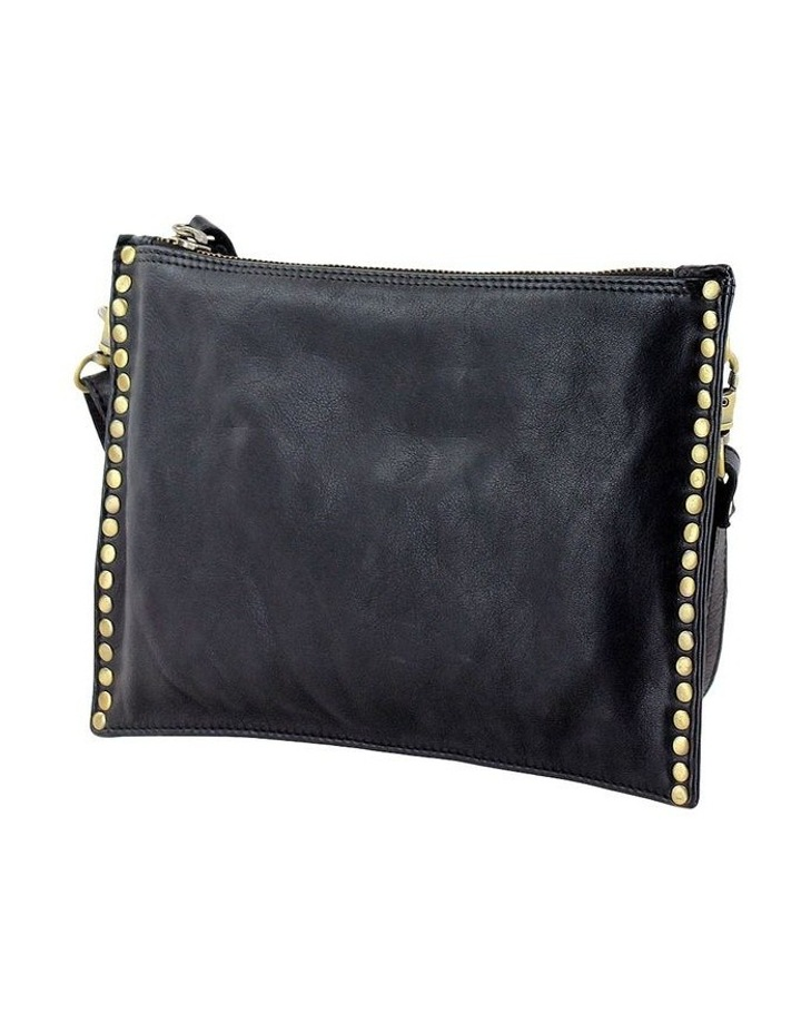 PRM204 Rivet Zip Top  Crossbody Bag image 2