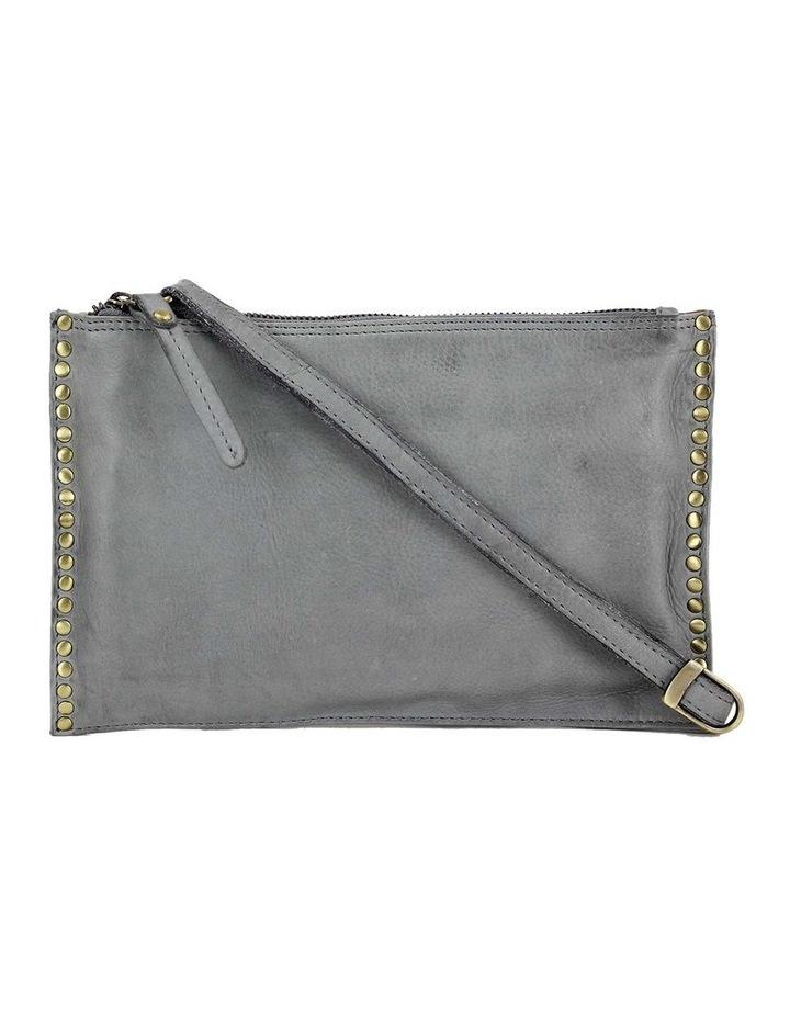 PRM204 Rivet Zip Top  Crossbody Bag image 1