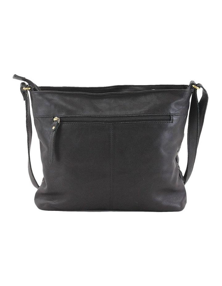 PRM206 Rivet Zip Top  Crossbody Bag image 3