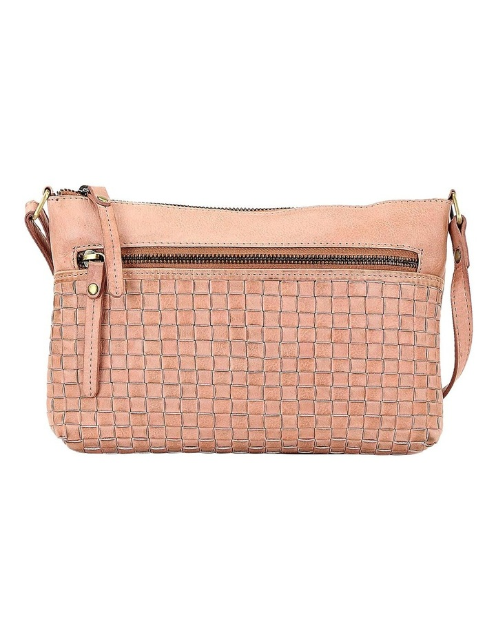 PRM208 Weave Zip Top  Crossbody Bag image 1