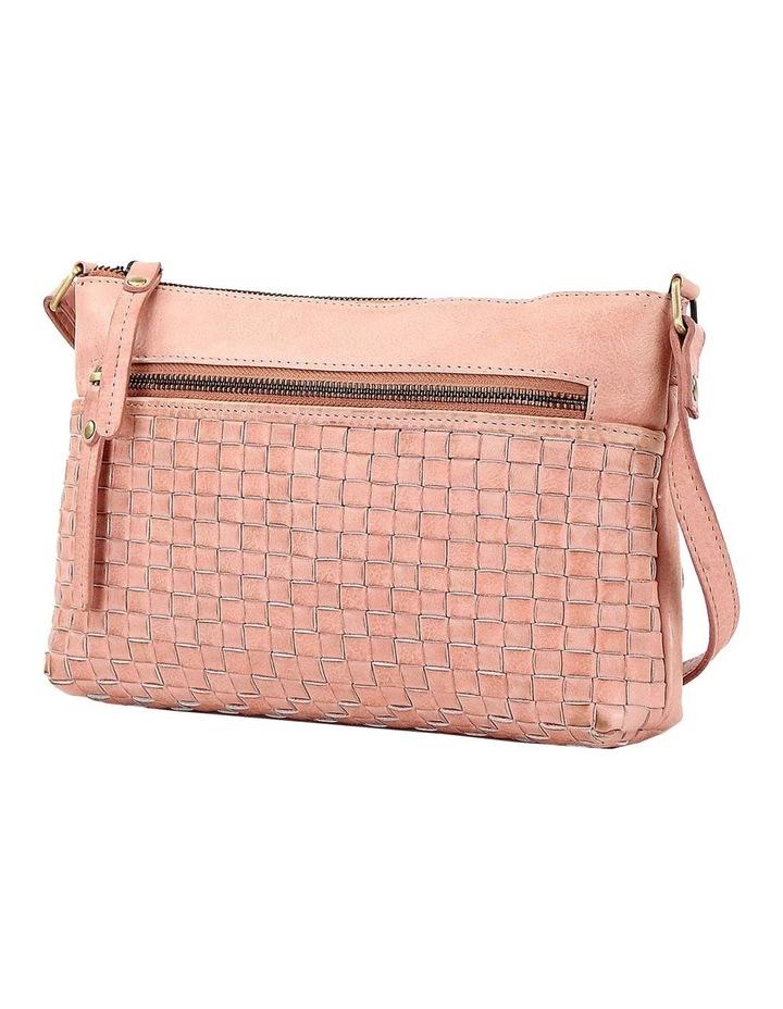 PRM208 Weave Zip Top  Crossbody Bag image 2
