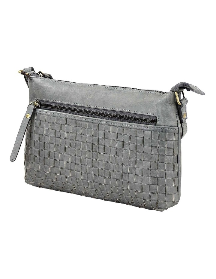 PRM208 Weave Zip Top  Crossbody Bag image 1