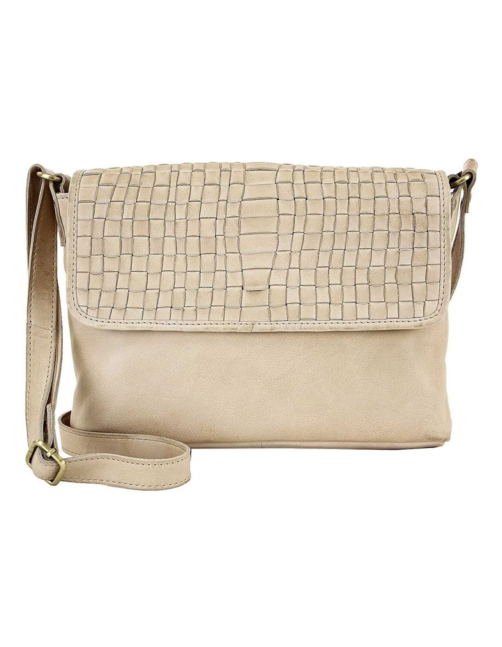 PRP100 Woven Flap Over Crossbody Bag image 1