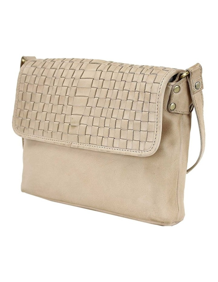 PRP100 Woven Flap Over Crossbody Bag image 2