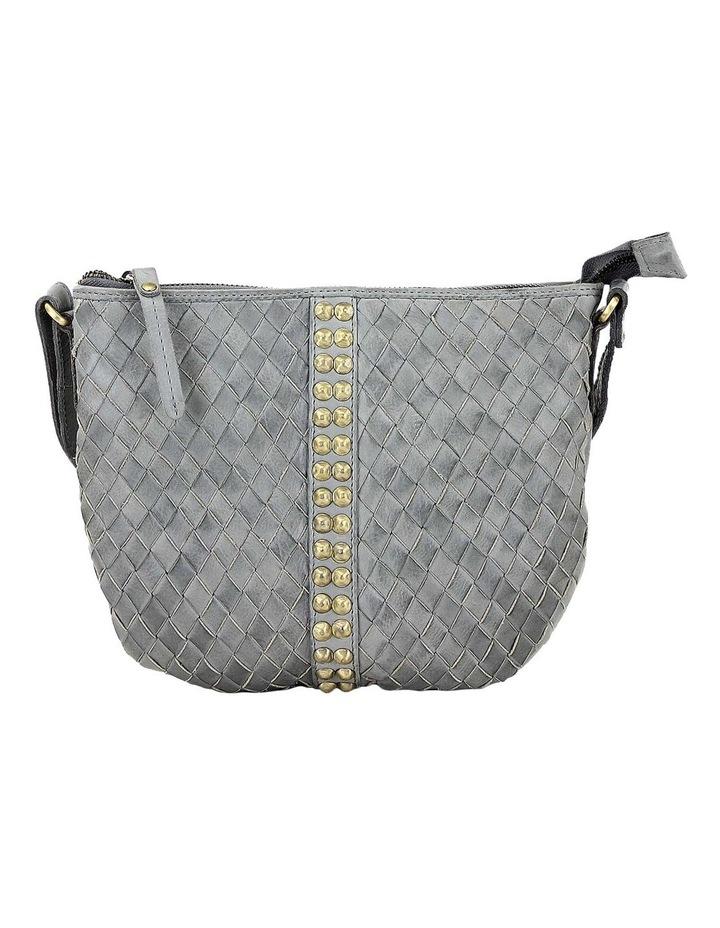 PRP102 Saddle Zip Top Crossbody Bag image 1