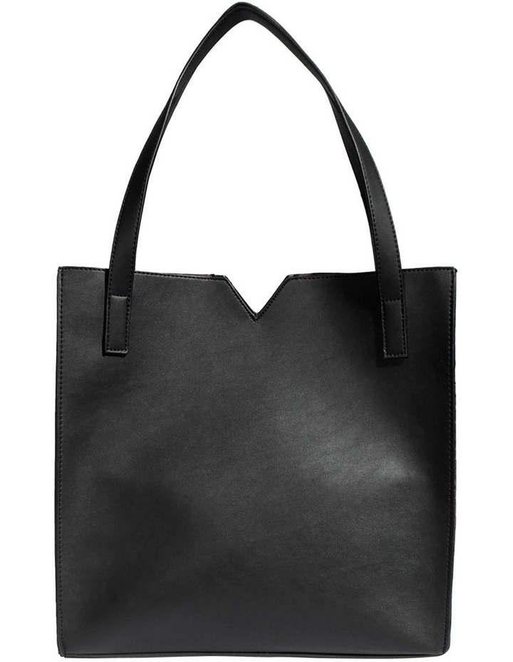 ALI219-TB-03 Alicia Double Handle Grey Tote Bag image 2