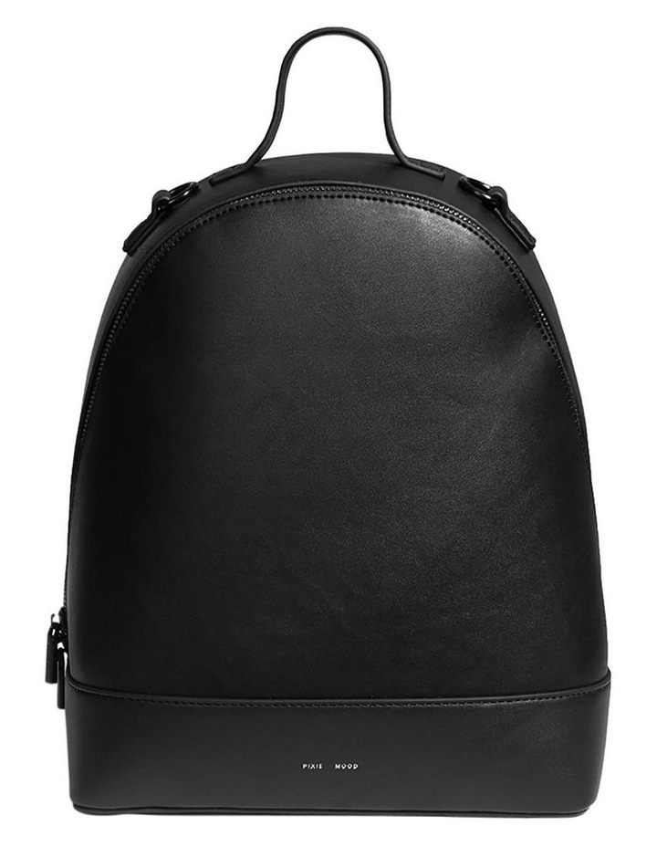 Cora Zip Around Black Back Pack image 1