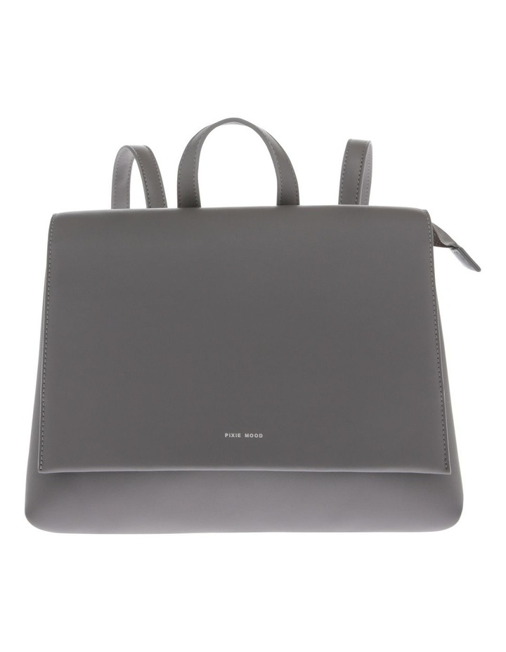 Janice Flap Over Grey Back Pack image 1
