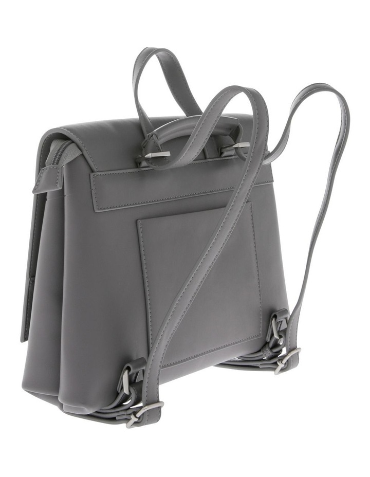 Janice Flap Over Grey Back Pack image 2