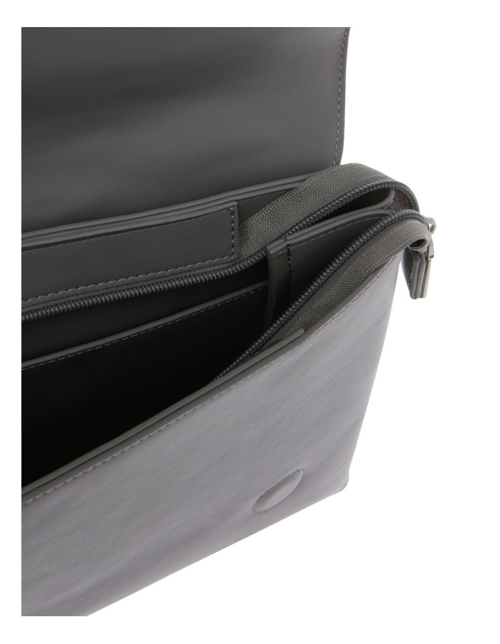Janice Flap Over Grey Back Pack image 4