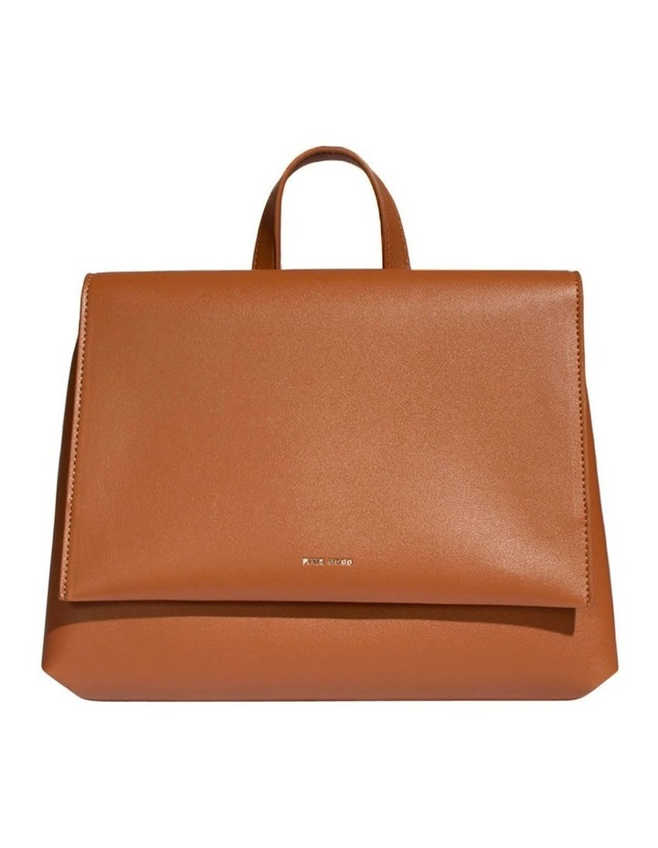 Janice Flap Over Tan Back Pack image 1