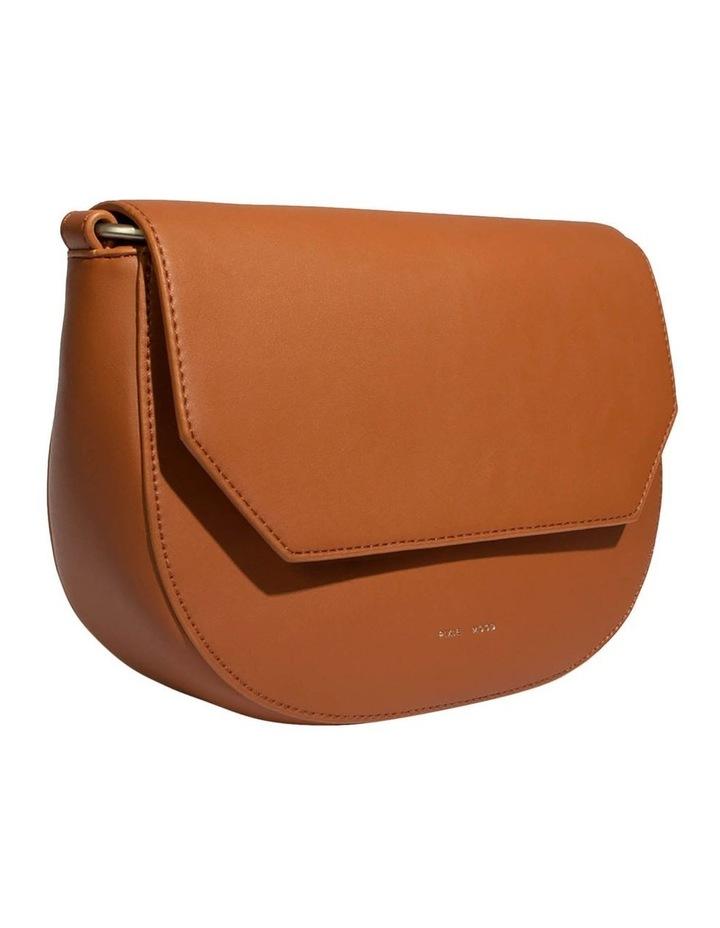 KEN219-CB-02 Kendra Flap Over Tan Crossbody Bag image 3