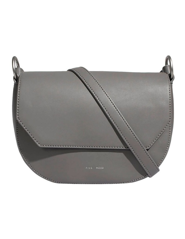 KEN219-CB-03 Kendra Flap Over Grey Crossbody Bag image 1