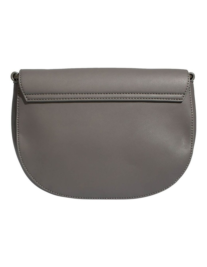 KEN219-CB-03 Kendra Flap Over Grey Crossbody Bag image 2