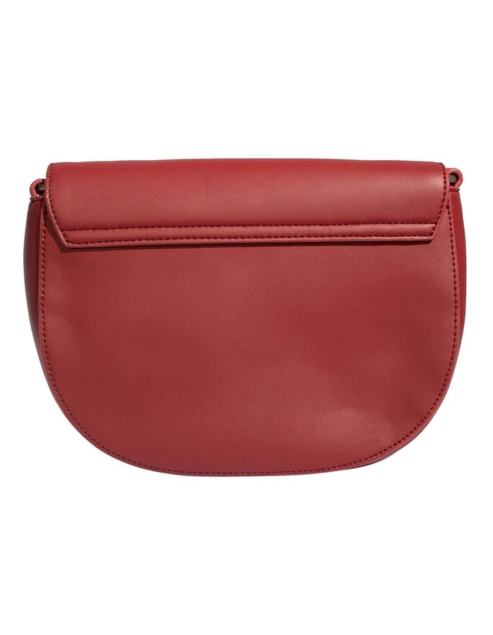 KEN219-CB-04 Kendra Flap Over Red Crossbody Bag image 2