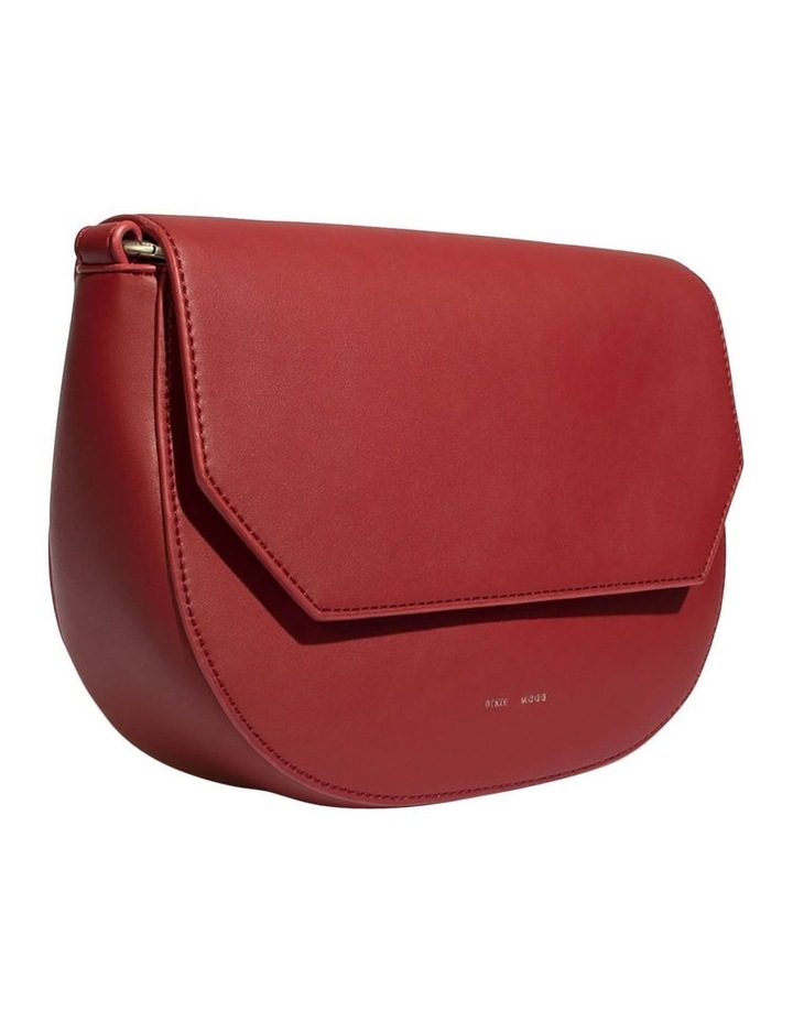 KEN219-CB-04 Kendra Flap Over Red Crossbody Bag image 3