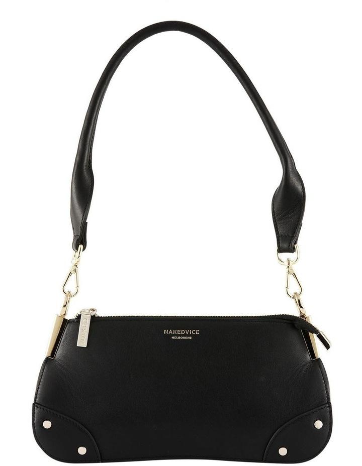 NVAW20-SB03 The Chase Zip Top Black Shoulder Bag image 1