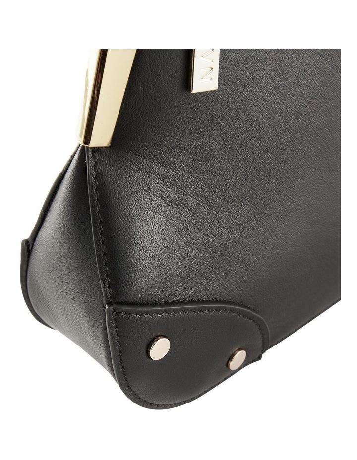 NVAW20-SB03 The Chase Zip Top Black Shoulder Bag image 3