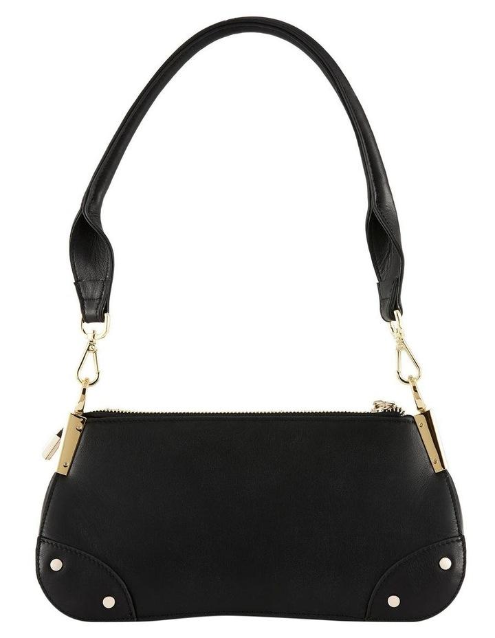 NVAW20-SB03 The Chase Zip Top Black Shoulder Bag image 4