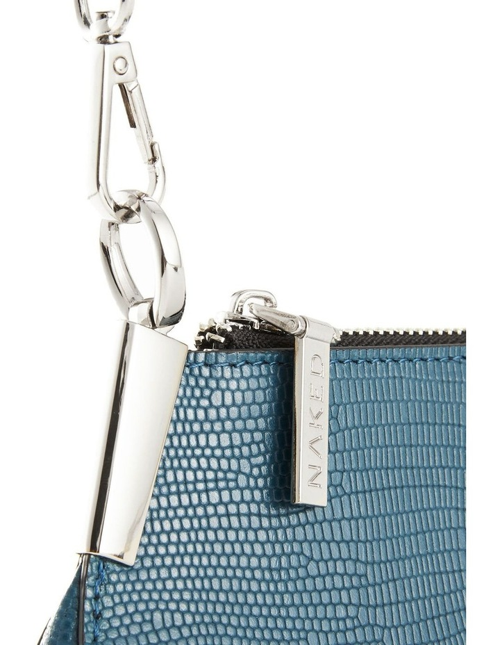 NVAW20-SB26 The Chase Zip Top Teal Shoulder Bag image 3