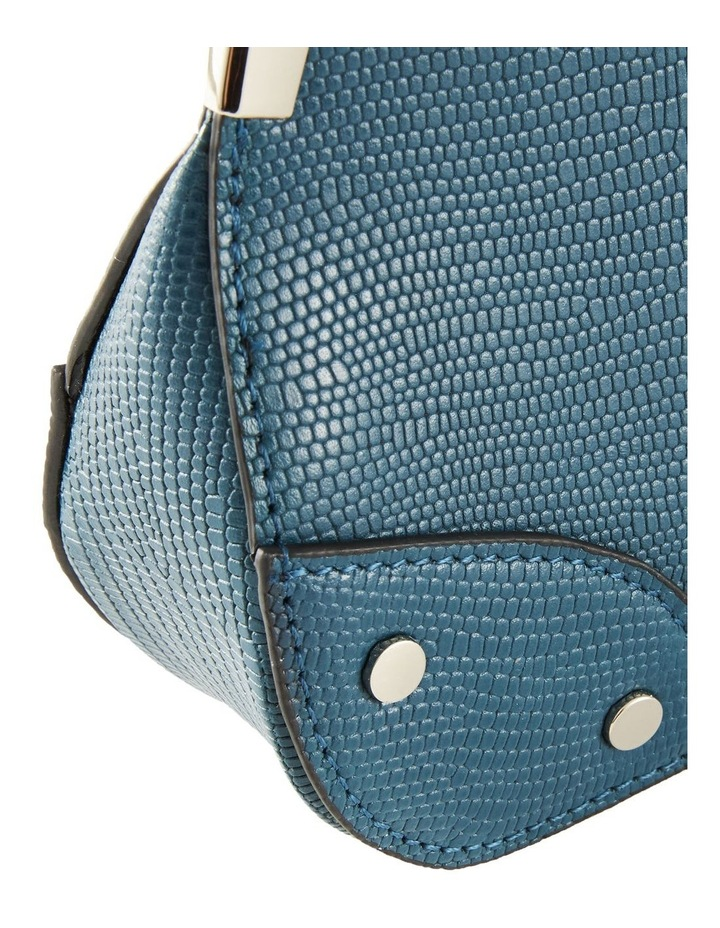 NVAW20-SB26 The Chase Zip Top Teal Shoulder Bag image 5