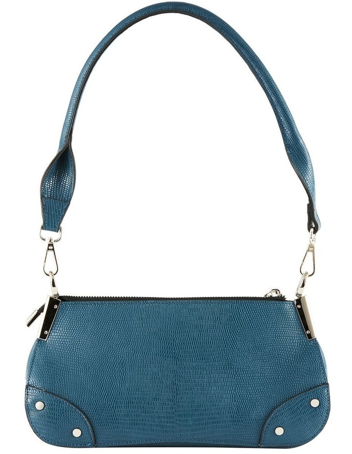 NVAW20-SB26 The Chase Zip Top Teal Shoulder Bag image 6