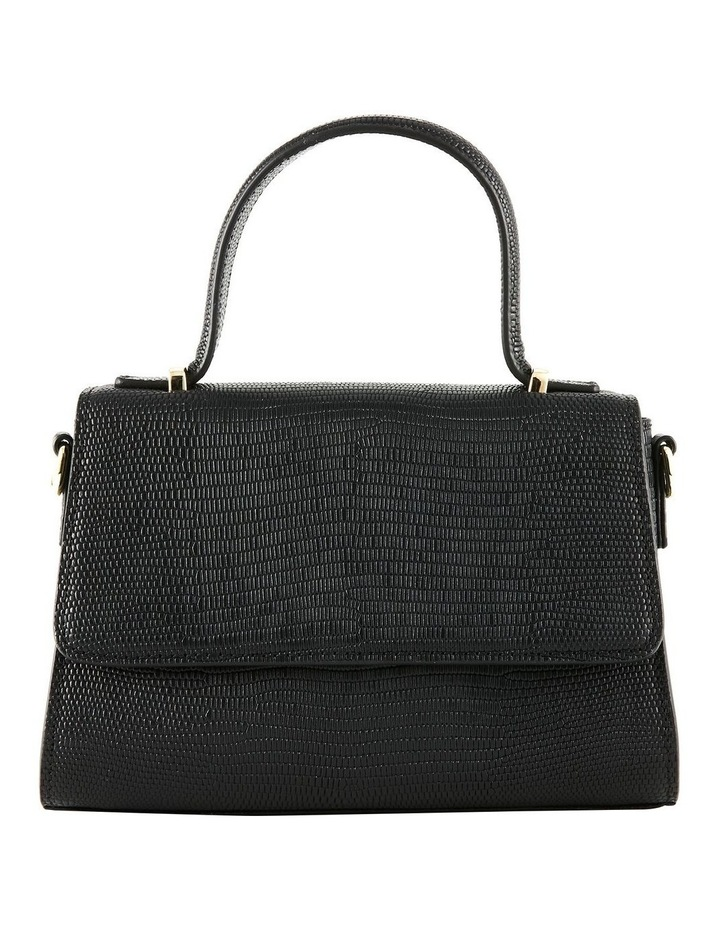 NVAW20-SB16 The Hilton Flap Over Black Crossbody Bag image 1