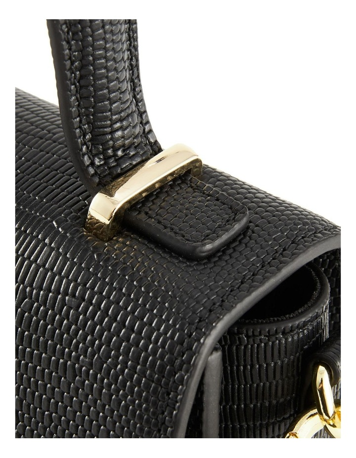NVAW20-SB16 The Hilton Flap Over Black Crossbody Bag image 4