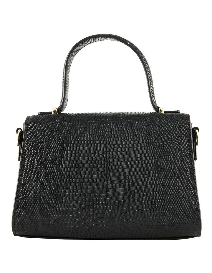 NVAW20-SB16 The Hilton Flap Over Black Crossbody Bag image 5