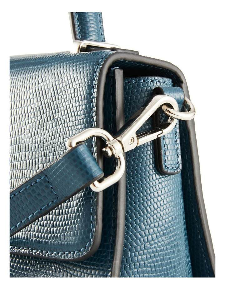 NVAW20-SB15 The Hilton Flap Over Teal Crossbody Bag image 2